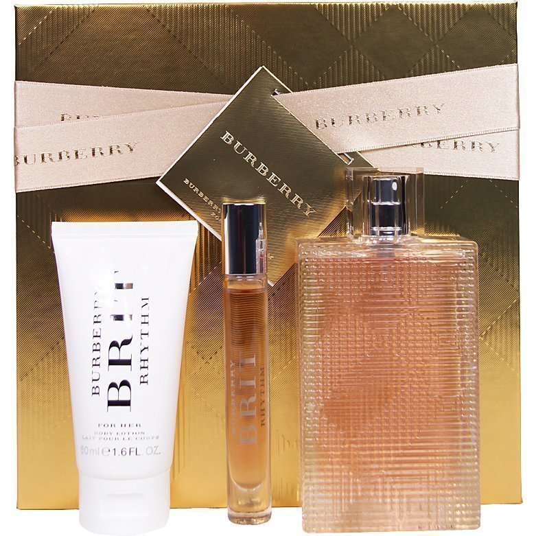 Burberry Brit Rhythm Giftset EdT 90ml EdT 7