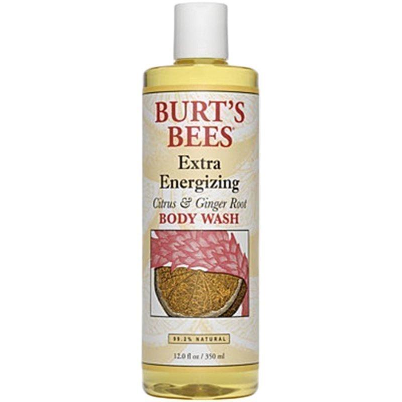 Burt's Bees Extra Energizing Citrus & Ginger Body Wash 350ml