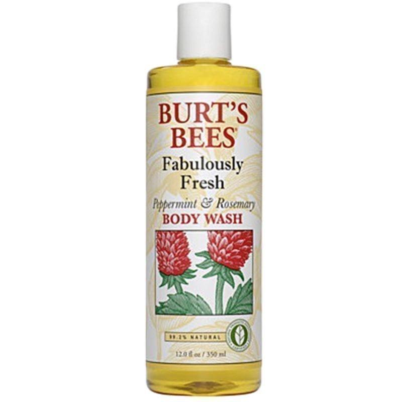 Burt's Bees Fabulously Fresh Peppermint & Rosemary Body Wash 350ml