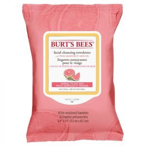 Burt's Bees Facial Cleansing Towelettes Pink Grapefruit 30 Count