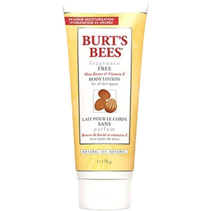 Burt's Bees Fragrance Free Shea Butter & Vitamin E Body Lotion 175ml