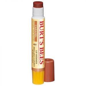 Burt's Bees Lip Shimmer 2.6g Various Shades Caramel