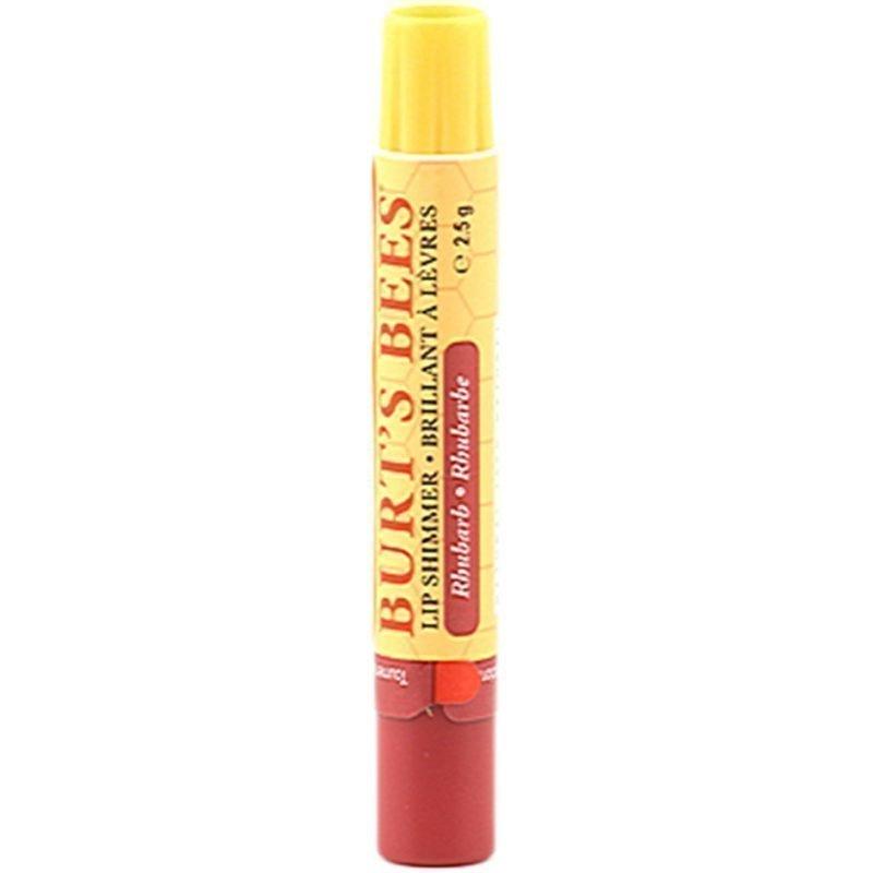 Burt's Bees Lip Shimmer Rhubarb 2