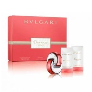 Bvlgari Omnia Coral Edt 40 Ml + Bodylotion 75 Ml + Gentle Scrub 75 Ml