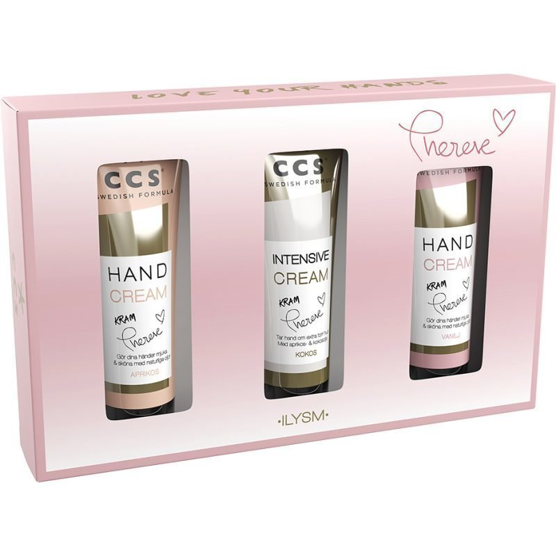 CCS Love Your Hands Hand Cream 3x40ml