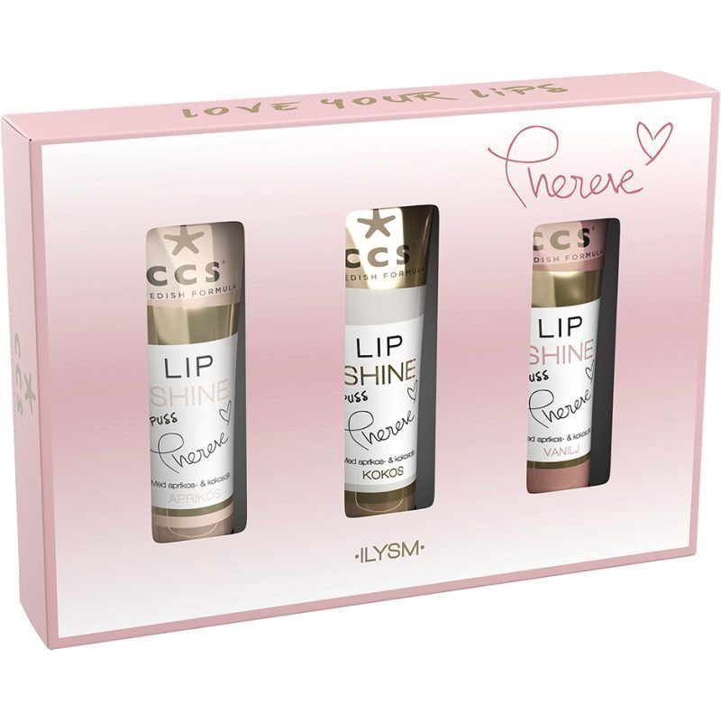 CCS Love Your Lips Lip Shine 3x10ml
