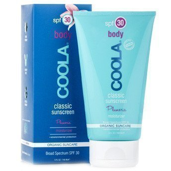 COOLA Classic Sunscreen Plumeria Moisturizer for Total Body SPF 30