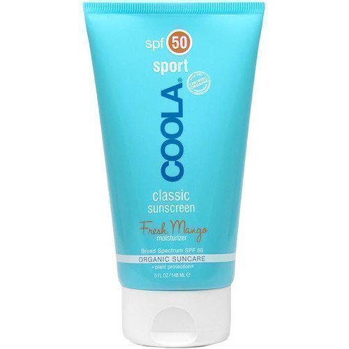 COOLA Classic Sunscreen Sport Fresh Mango Moisturizer for Body SPF 50