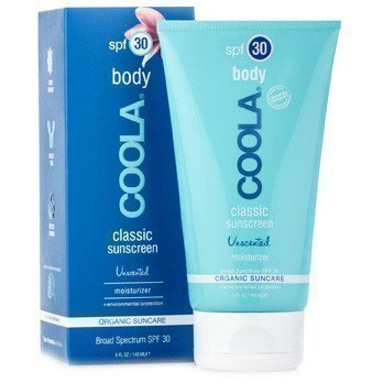 COOLA Classic Sunscreen Unscented Moisturizer for Total Body SPF 30