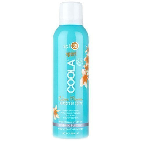 COOLA Sunscreen Spray Citrus Mimosa Sport SPF 30