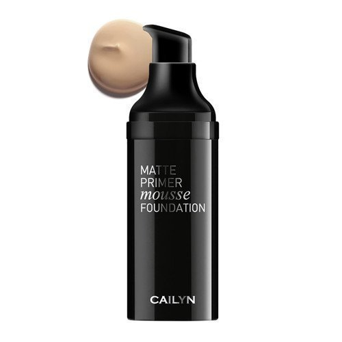 Cailyn Matte Primer Mousse Foundation 01 Chiffon