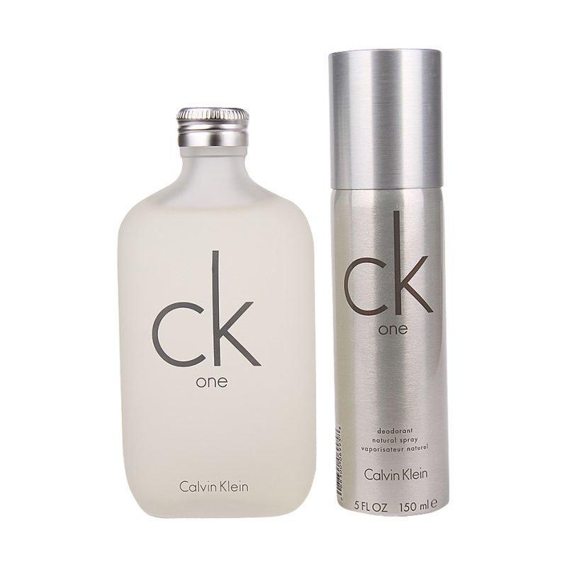 Calvin Klein CK One Duo EdT 200ml Deospray 150ml
