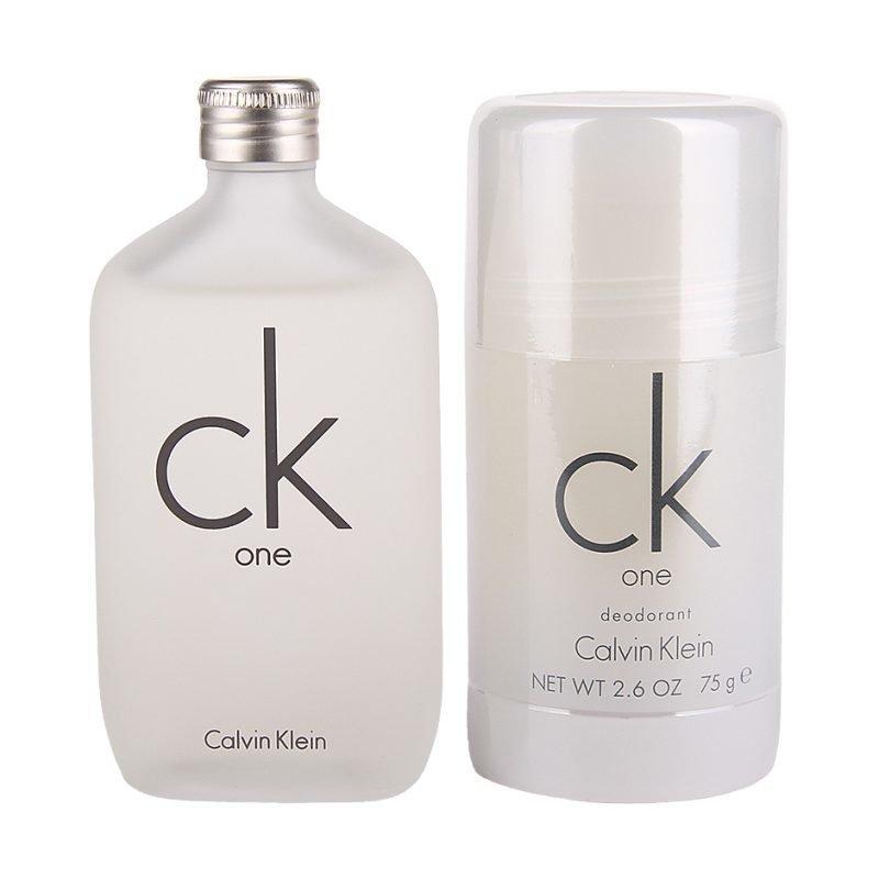 Calvin Klein CK One Duo EdT 50ml Deostick 75ml
