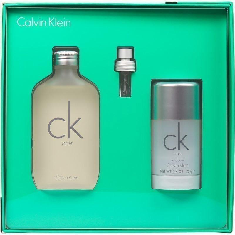Calvin Klein CK One Giftset EdT 100ml Deostick 75ml