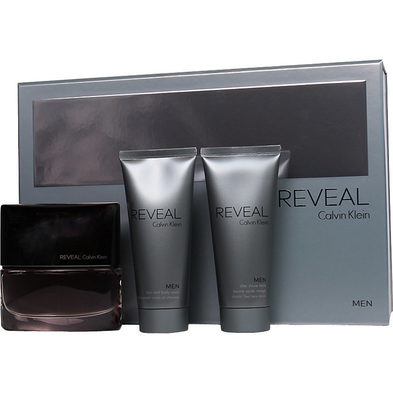 Calvin Klein Reveal Giftset EdT 100ml Aftershave Balm 100ml Showergel 100ml