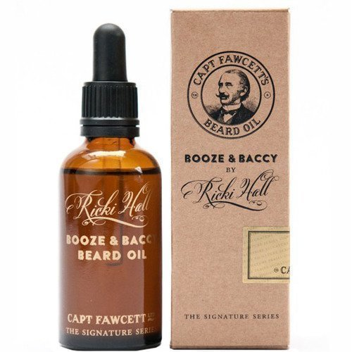 Captain Fawcett Beard Oil Ricky Halls Booze & Baccy 10 ml