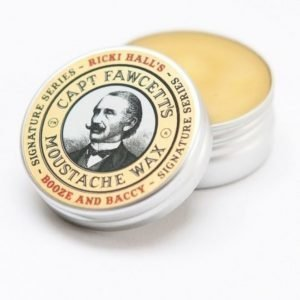 Captain Fawcett Moustache Wax Ricky Hall's Booze & Baccy