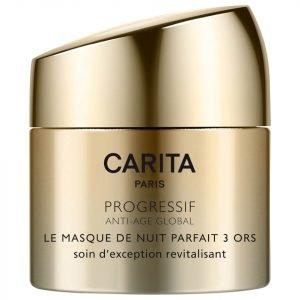 Carita Perfect Night Trio Of Gold Sleeping Mask 50 Ml
