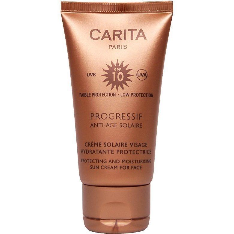 Carita Progressif Anti-Age Solaire Protecting And Moisturising Sun Cream For Face SPF10 50ml