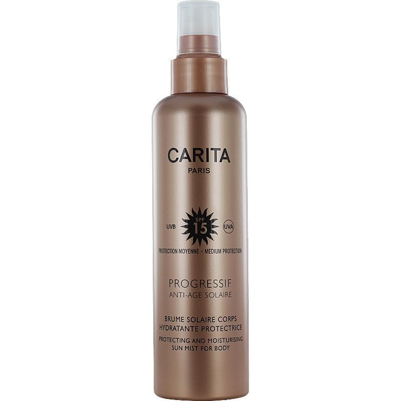 Carita Progressif Anti-Age Solaire Protecting and Moisturising Sun Mist For Body SPF15 200ml