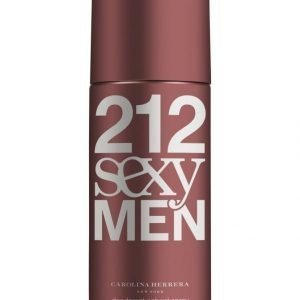 Carolina Herrera 212 Sexy Men Deodorant Spray 150 ml Suihkedeodorantti Miehelle