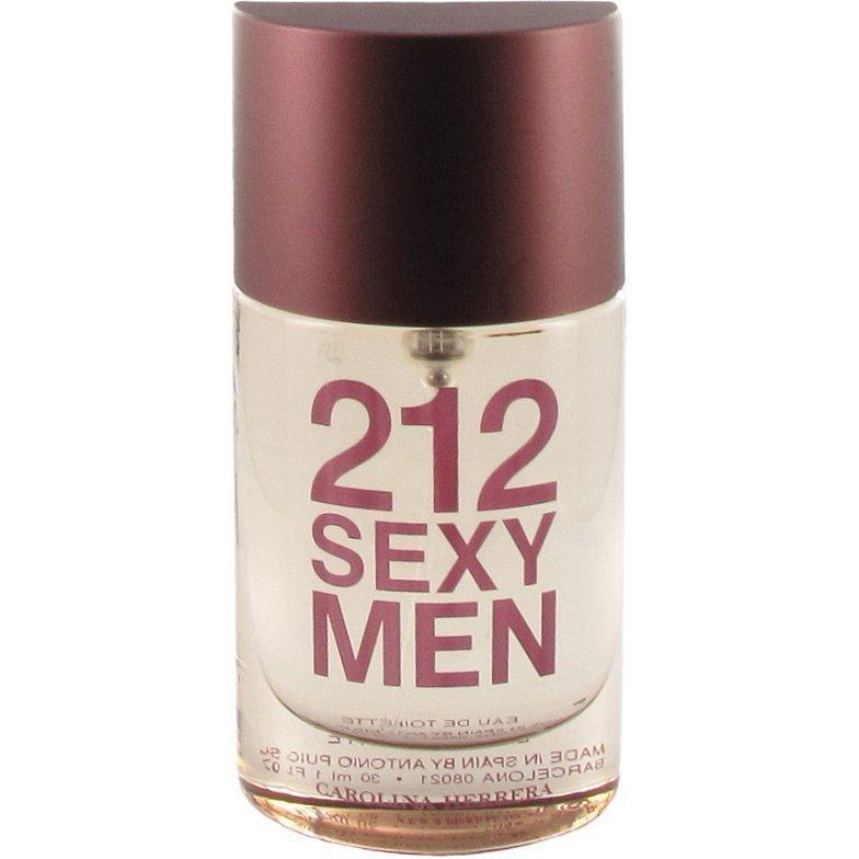 Carolina Herrera 212 Sexy Men EdT EdT 30ml