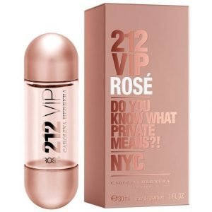 Carolina Herrera 212 Vip Rosé Edt Tuoksu 30 ml