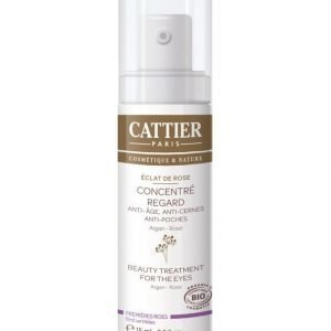 Cattier-Paris Eclat De Rose Beauty Treatment For The Eyes Silmänympärysvoide 15 ml