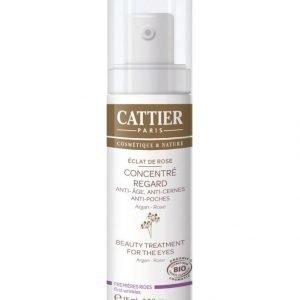 Cattier-Paris Eclat De Rose Beauty Treatment For The Eyes Silmänympärysvoide 15 ml