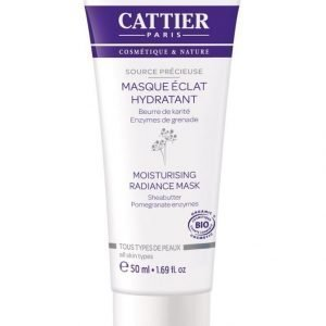 Cattier-Paris Source Délicieuse Moisturising Radiance Mask Kasvonaamio 50 ml