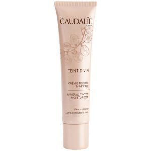 Caudalie Teint Divin Mineral Tinted Moisturizer Light To Medium Skin 30 Ml