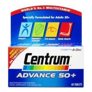 Centrum Advance 50 Plus Multivitamin Tablets 60 Tablets