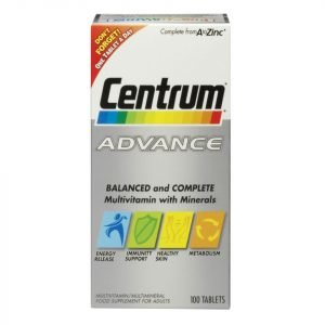 Centrum Advance Multivitamin Tablets 60 Tablets