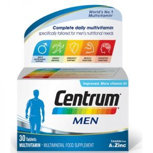 Centrum Men Multivitamin Tablets 30 Tablets