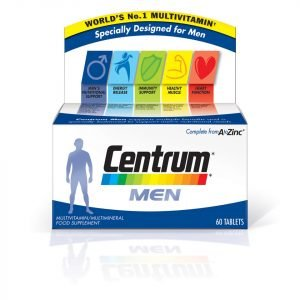 Centrum Men Multivitamin Tablets 60 Tablets