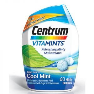 Centrum Vitamint Cool Mint Tablets 60 Tablets