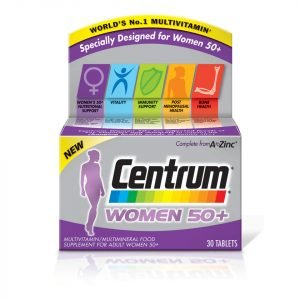 Centrum Women 50 Plus Multivitamin Tablets 30 Tablets