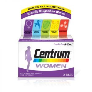 Centrum Women Multivitamin Tablets 30 Tablets