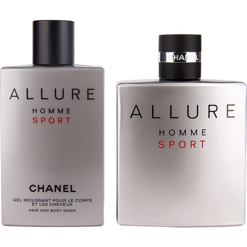 Chanel Allure Homme Sport Duo EdT 150ml Hair And Body Wash 200ml