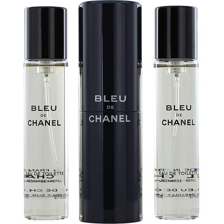 Chanel Bleu De Chanel Homme Giftset EdT 3 x 20ml