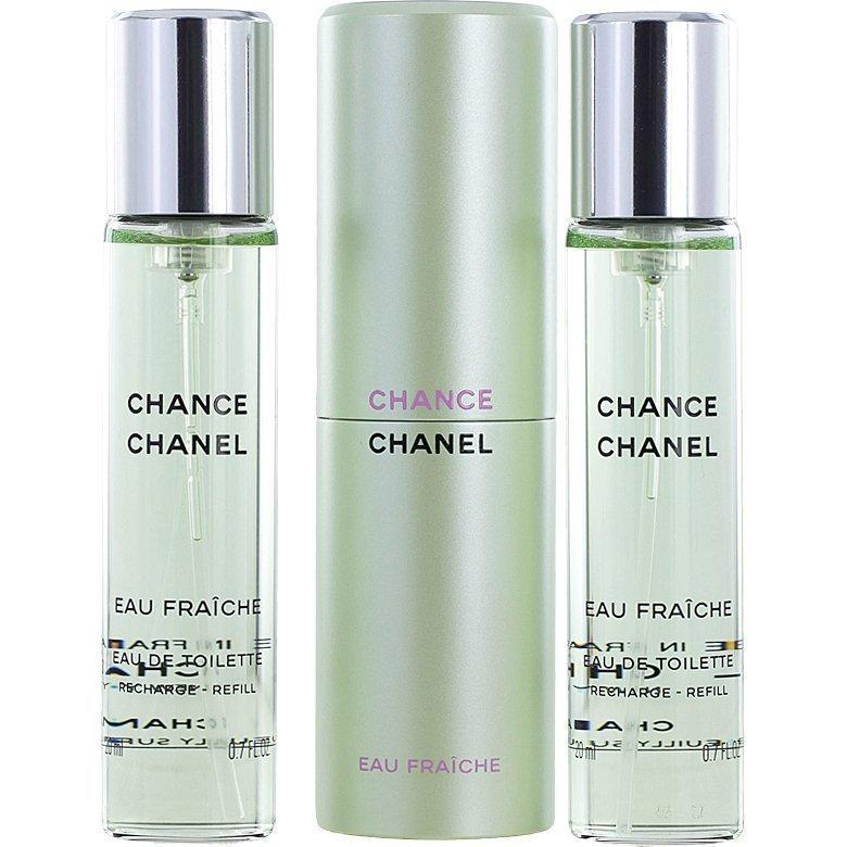 Chanel Chance Eau Fraiche EdT EdT 3x20ml