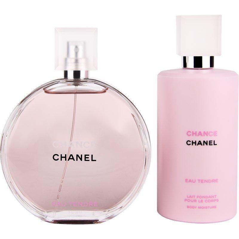 Chanel Chance Eau Tendre Duo EdT 150ml Body Moisture 200ml