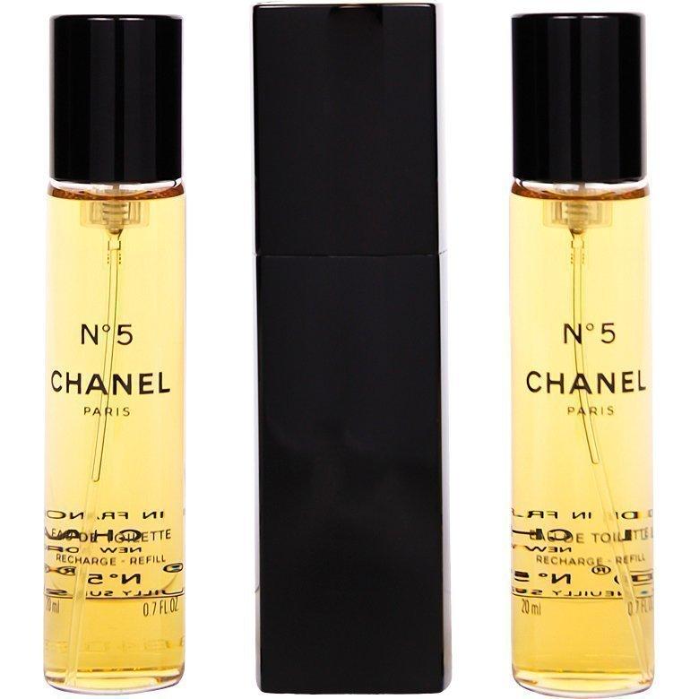 Chanel No.5 EdT 3x20ml