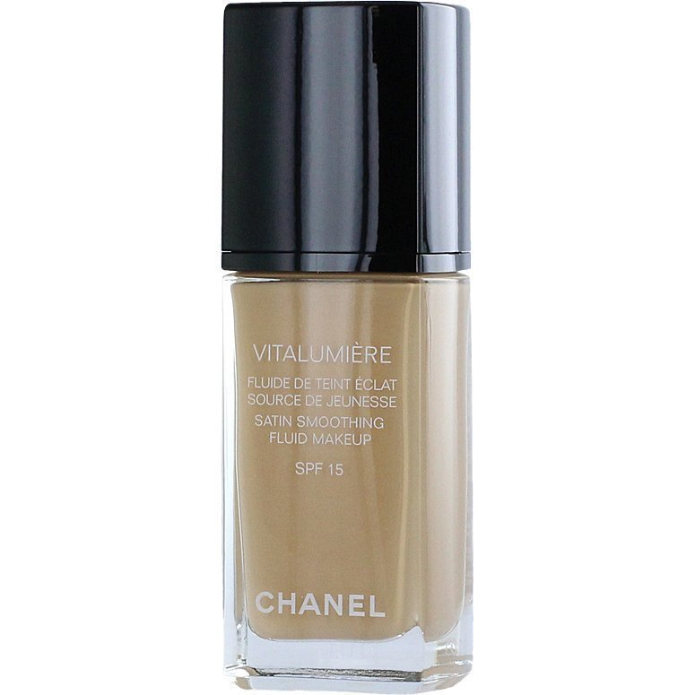 Chanel Vitalumiére Fluid Satin Makeup Foundation N°20 Clair 30ml