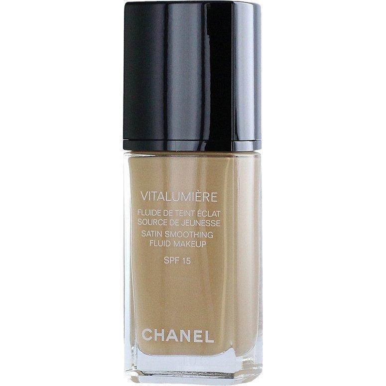 Chanel Vitalumiére Fluid Satin Makeup Foundation N°20 Clair 30ml