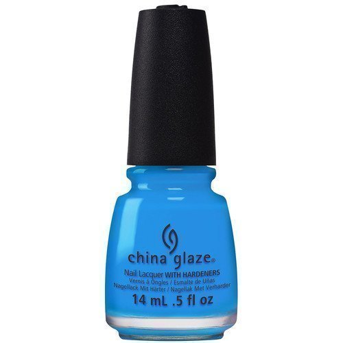 China Glaze Nail Lacquer Dj Blue My Mind