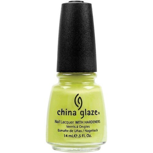 China Glaze Nail Lacquer Electric Pineapple