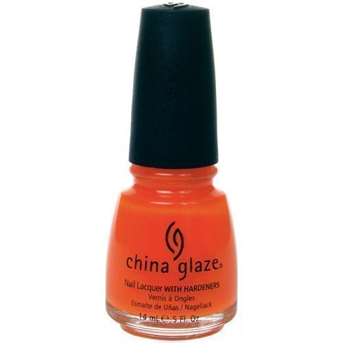 China Glaze Nail Lacquer Orange Knockout