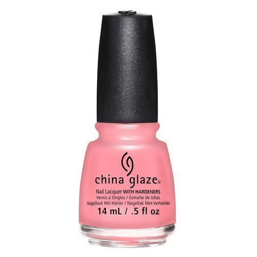 China Glaze Nail Lacquer Pink or Swim