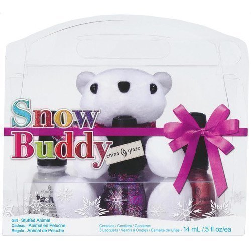 China Glaze Nail Lacquer Snow Buddy Gift Set